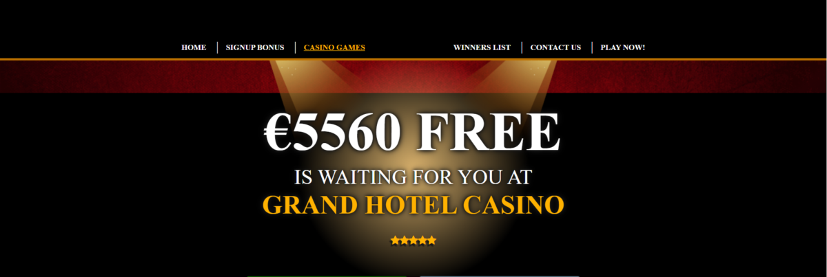 Our review of Grand hotel casino